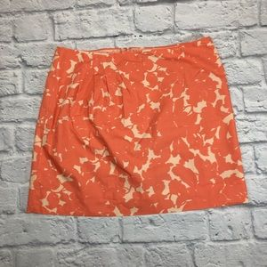 J.Crew coral peach skirt. New! Size 6.